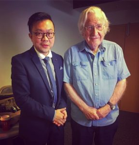 FORSEA Pavin Chachavlpongpun interviews Noam Chomsky