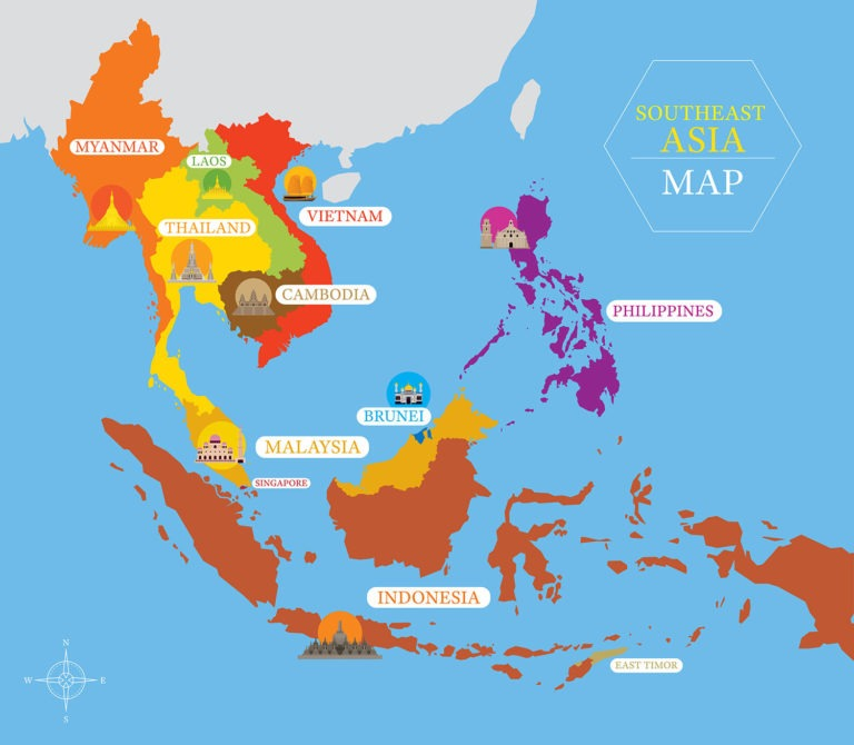 FORSEA-Southeast-Asia-Map