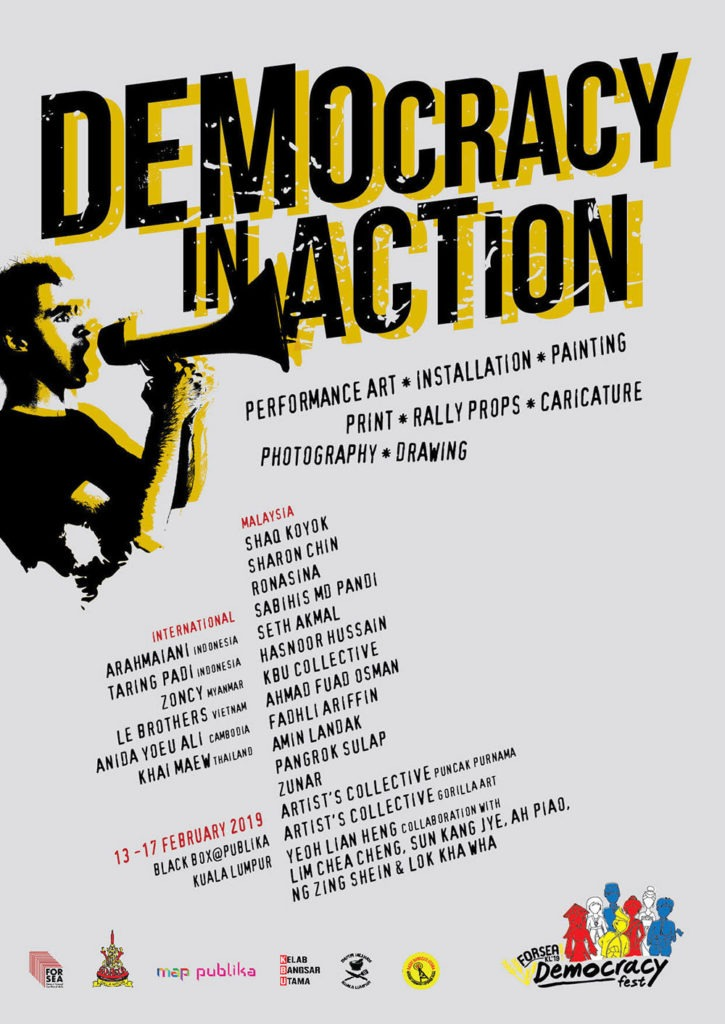 FORSEA-democracy-in-action-poster