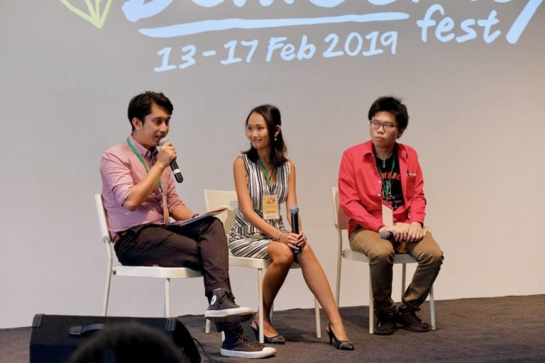 Young Malay and Thai Activists