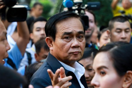 Condemning the Return to Premiership of General Prayuth Chan-ocha Through a Manipulative Method