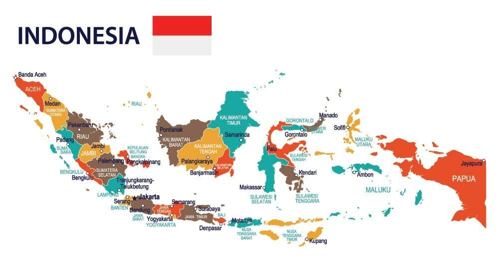 FORSEA Indonesia map