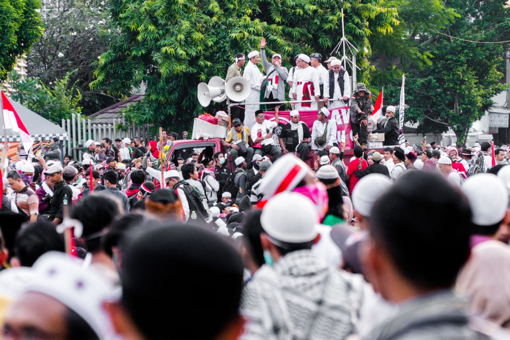 Indonesia 2019 presidential election demonstation FORSEA_