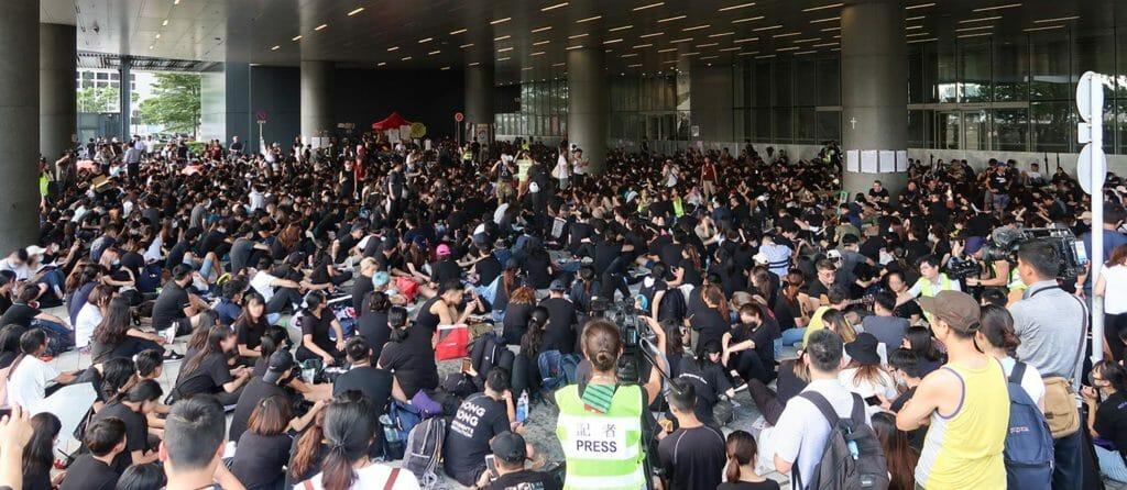 Protesters_under_Legislative_Council_Building_20190621