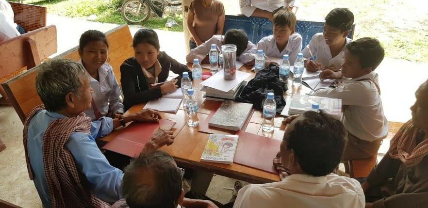 Public Forum in Prey Veng province